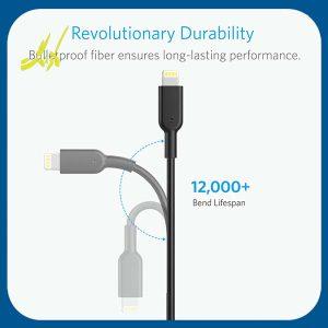 کابل تبدیل USB به لایتنینگ انکر Anker مدل A8432