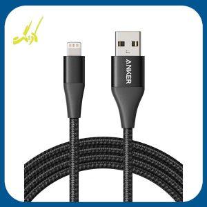 کابل تبدیل USB به لایتنینگ انکر Anker مدل A8452