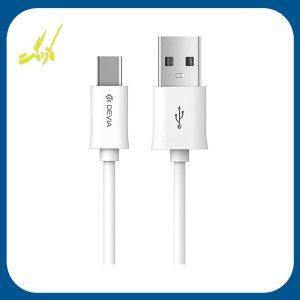 کابل تبدیل USB به Type-C دویا مدل Smart به طول 1 متر