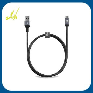 کابل تبدیل USB به USB-C آدام المنتس مدل CASA M100 به طول 1 متر