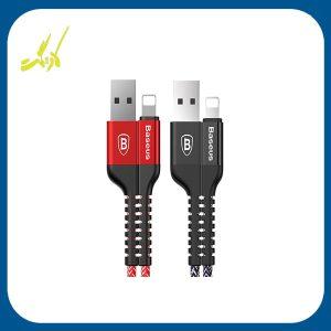کابل تبدیل USB به لایتنینگ باسئوس مدل ANTI-BREAK طول 1 متر