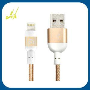 کابل تبدیل USB به لایتنینگ آدام المنتس مدل PeAk II 120B طول 1.2 متر