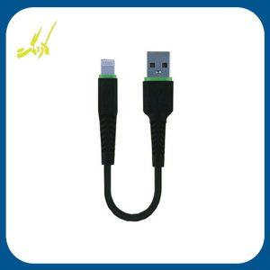 کابل USB به لایتنینگ بودی طول ۲۰ سانتی متر