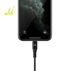 کابل USB به Lightning انرجیا مدل AluTough