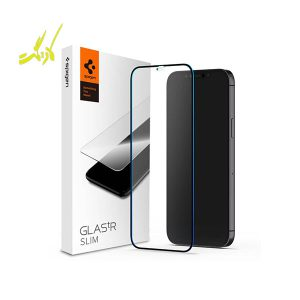 محافظ صفحه نمایش آیفون 12 Pro Max اسپیگن مدل GlastR Slim